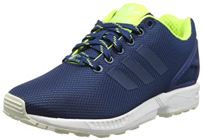 brand new 0de8c 8c304 adidas Men ZX Flux Training Running Shoes, Blue (Shadow Blue Solar Yellow