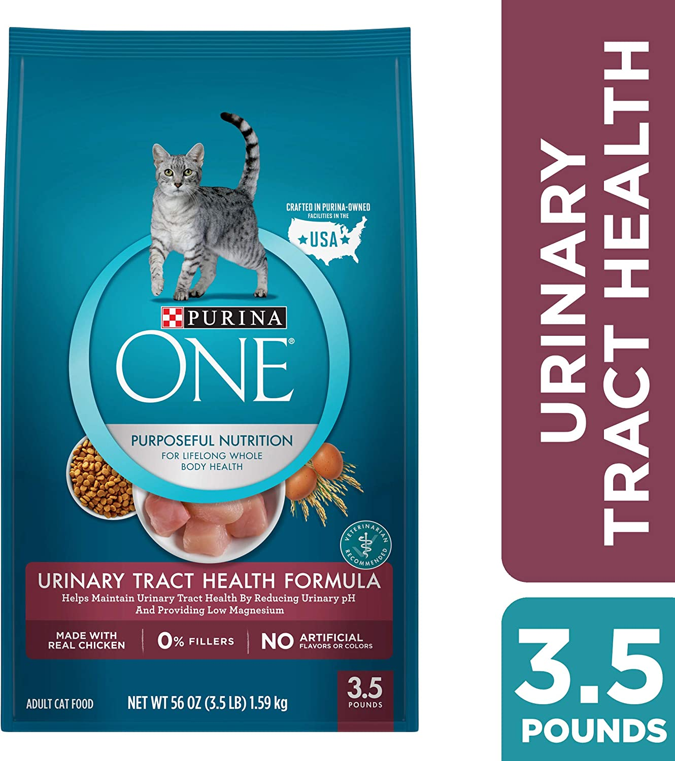 Purina ONE Urinary Tract Health Formula Adult Premium Cat Food