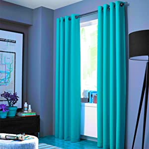Gorgeous Home LINEN Prestige Curtains (Nah) One Panel Solid Elegant Blackout Thermal Insulated with Foam Backing Grommet Silver Energy Saving Triple Layer Window Treatment Draperies (35