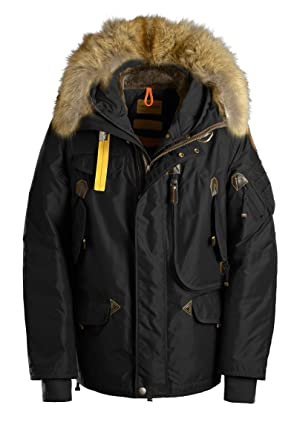parajumpers right hand mens parka black
