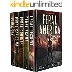 Feral America Complete: Books 1-4 & Prequel (Calm Act Climate Apocalyptic Box Sets Book 3)