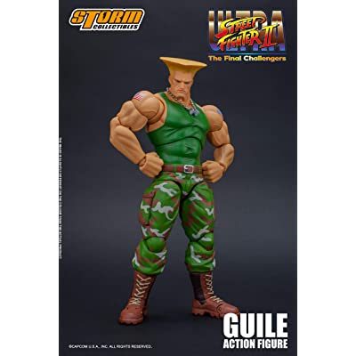 Storm Collectibles 1: 12 Guile Street Fighter: Toys & Games