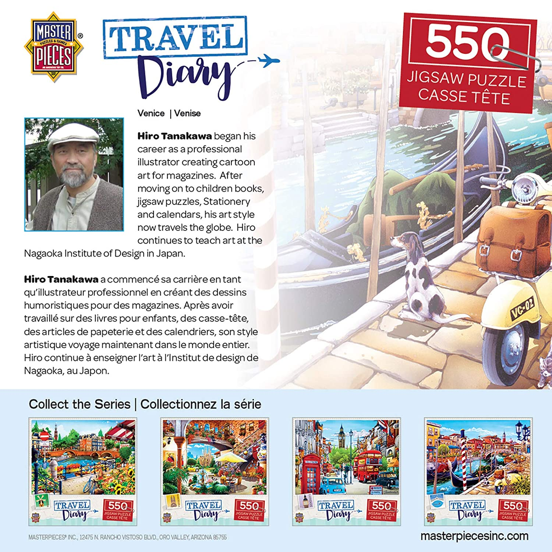 Venice 550Piece Jigsaw Puzzle MasterPieces Travel Diary