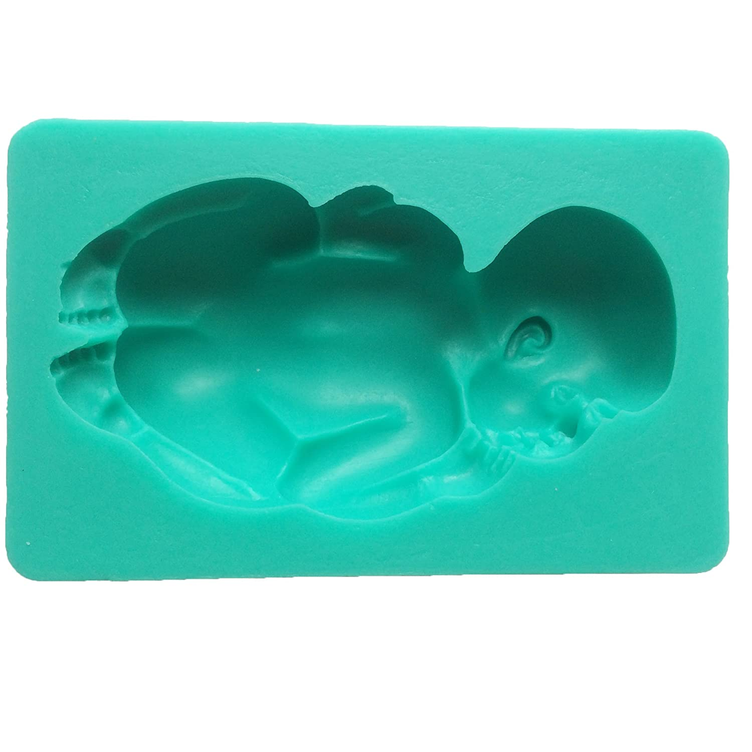 Amazon Funshowcase Sleeping Baby Silicone Mold For Cake