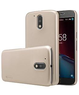 Nillkin Cell Phone Case for Motorola Moto G4 Plus - Golden