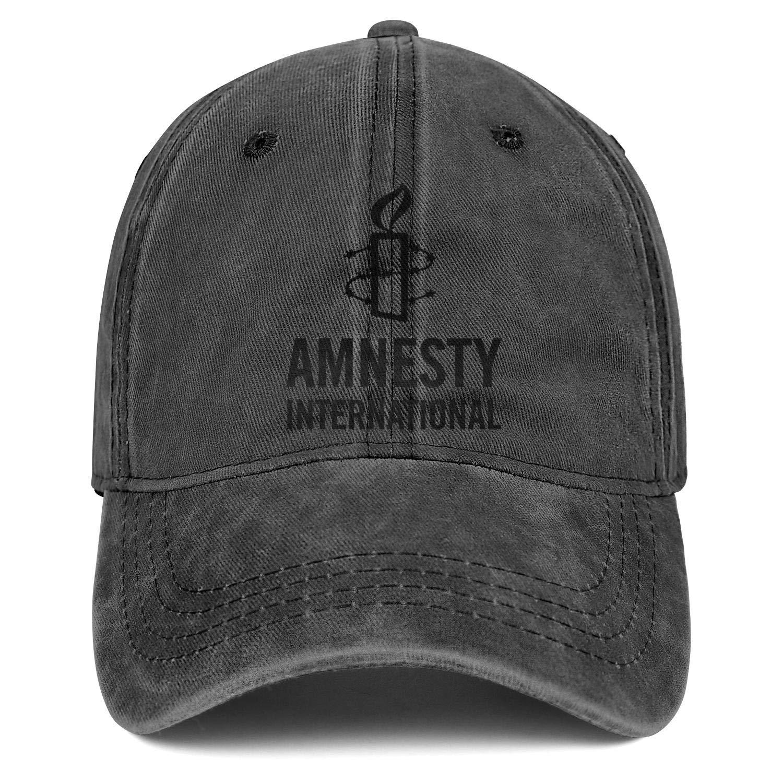 WYLIN Amnesty-International Men Women Novelty Denim Baseball Cap Snapback Trucker Hat Adjustable