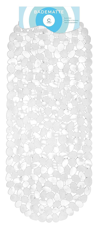 Circulation bath mat, 99 x 39 cm, white stone look
