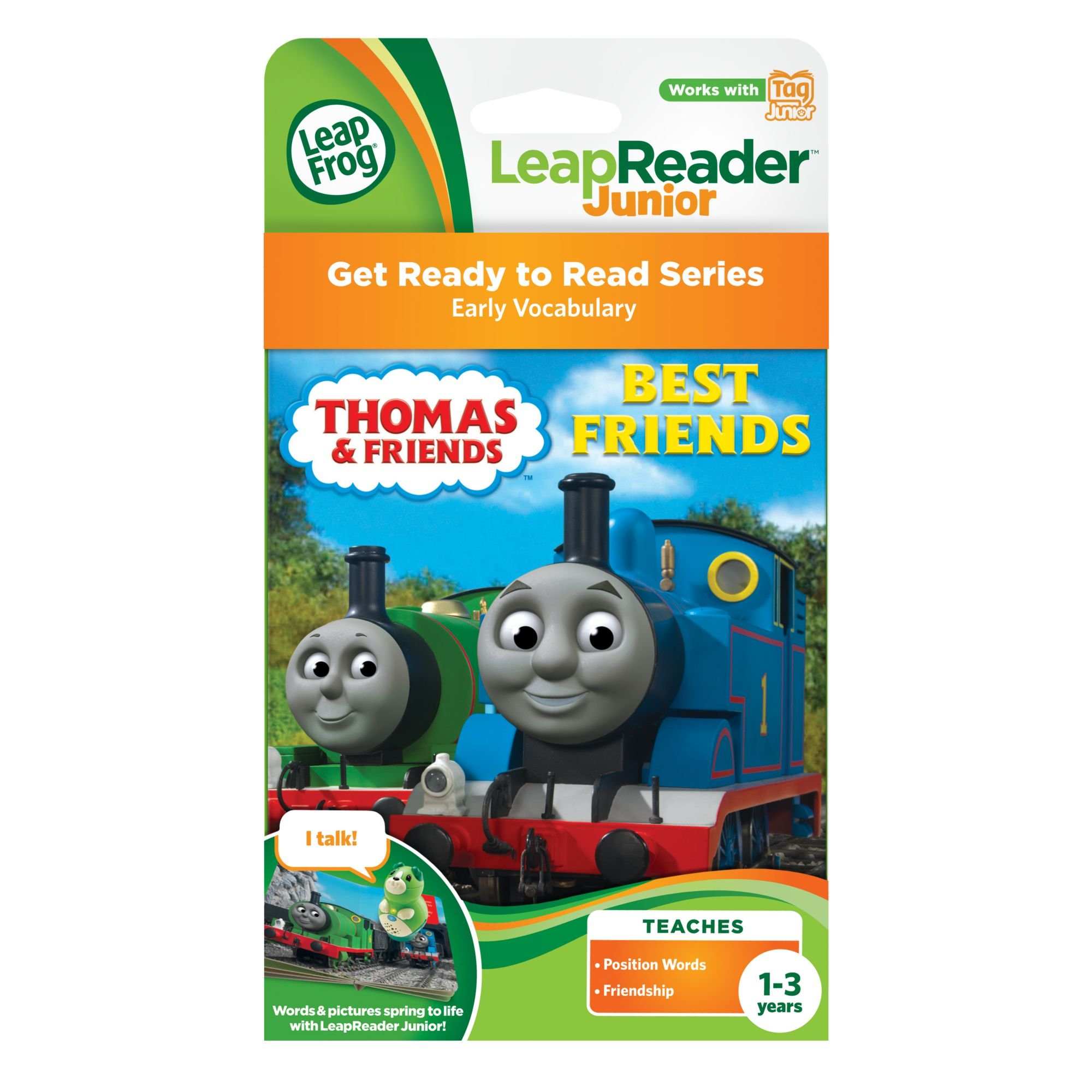 LeapFrog LeapReader Junior Book: Thomas & Friends: Best Friends (works with Tag Junior) by LeapFrog (Image #3)