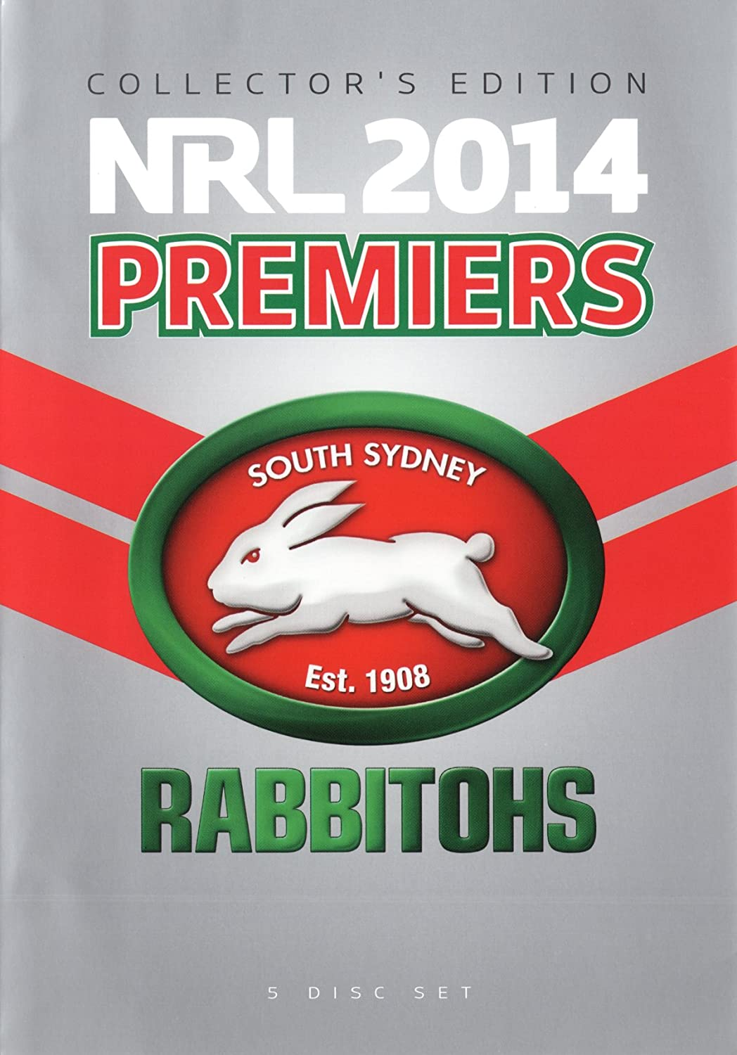 Amazon Com Nrl 2014 Premiers South Sydney Rabbitohs Collectors Edition Non Usa Format Pal Region 4 Import Australia Ray Warren Peter Stirling Paul Vautin Movies Tv