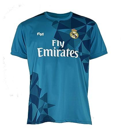Real Madrid Ronaldo – Camiseta Hombre, Hombre, Color Azul, tamaño XXL