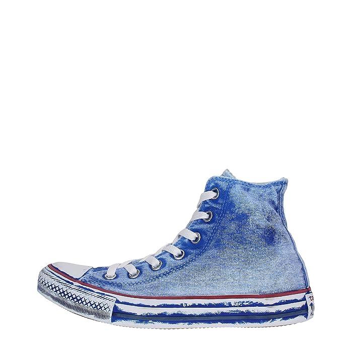 Converse Chuck Taylor (Chucks) All Star Sneaker Unisex Erwachsene High Top Blue Jeans