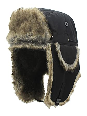 8c70d58a1dab3 Unisex Winter Bomber Hat with Ear Flap