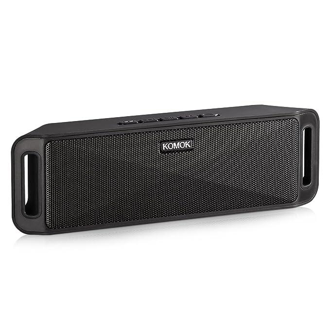 Review Portable Wireless Bluetooth Speaker,KOMOK