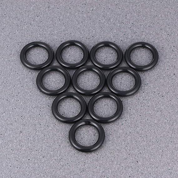 Artibetter Anillo de goma de bobina de bobina de 10 piezas neum/áticos o anillo para m/áquina de coser cantante