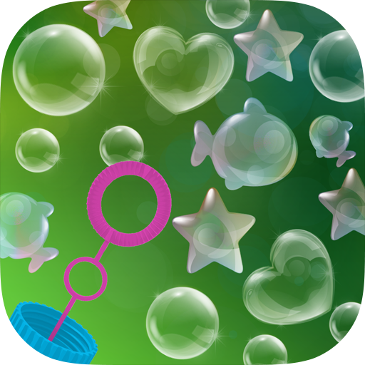 BLOW mini games for Baby Kids - Balloons, Bubbles, Dandelion, Pinwheel, Candles & Puffer - App Shape Face