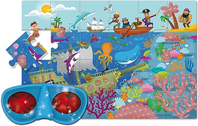 Lisciani 47024/ /Secret Puzzle/ /The Sea