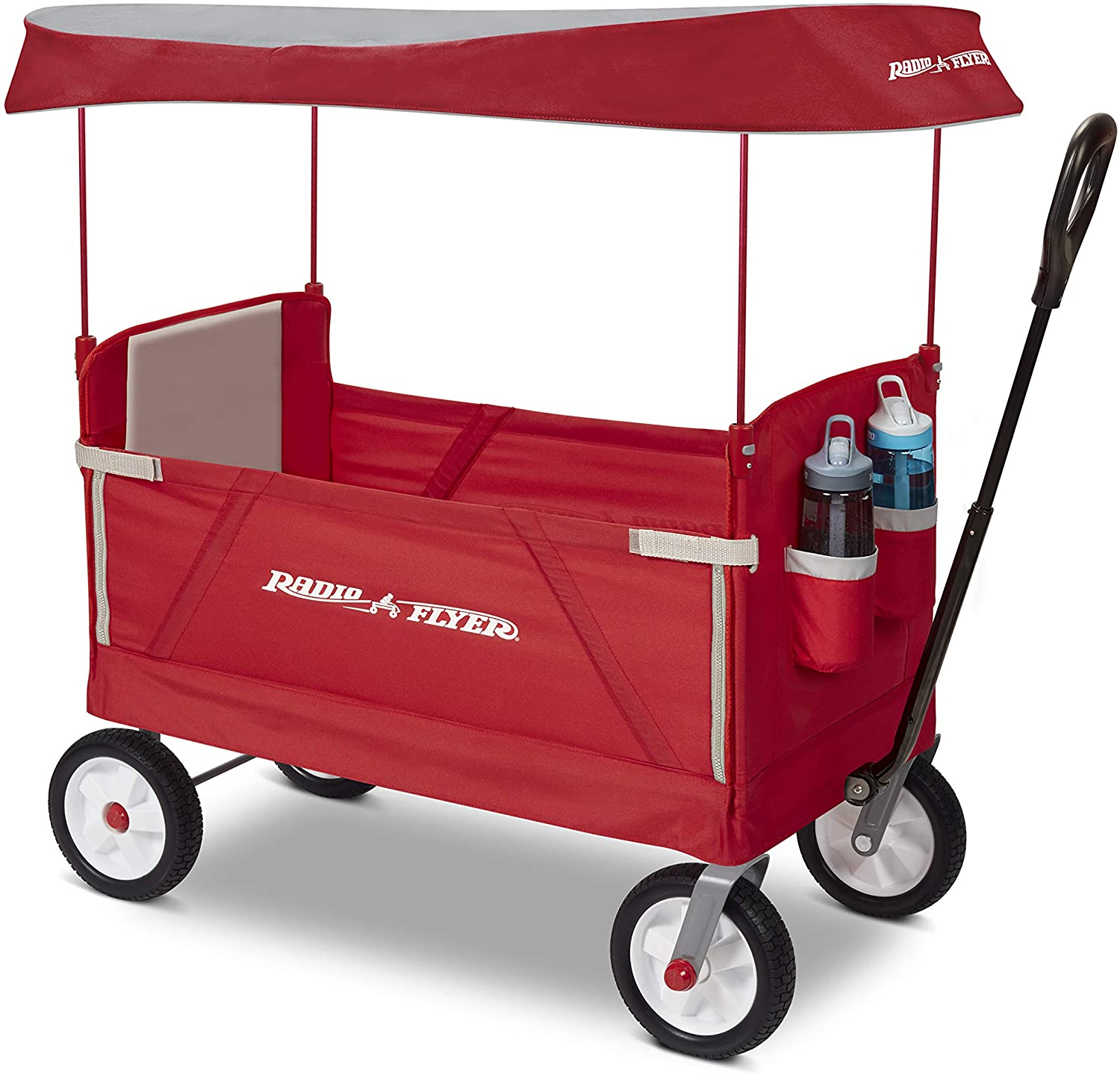 Off Road Wagon >> Radio Flyer 3 In 1 Off Road Ez Fold Wagon With Canopy