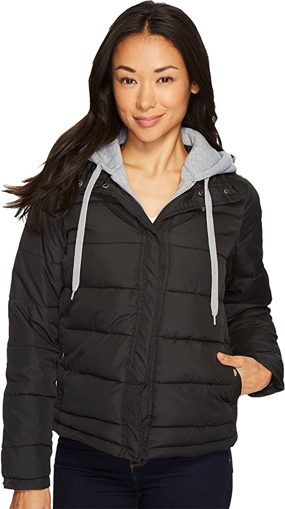U.S. Polo Assn. para Mujer Abrigo para sobre Ropa - Negro ...