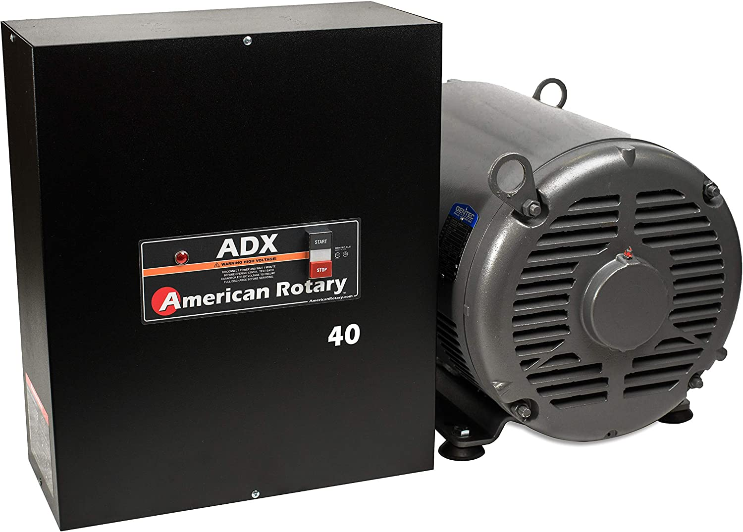 Phase Converter ADX40-40 HP Digital Smart Series Extreme Duty - American Made