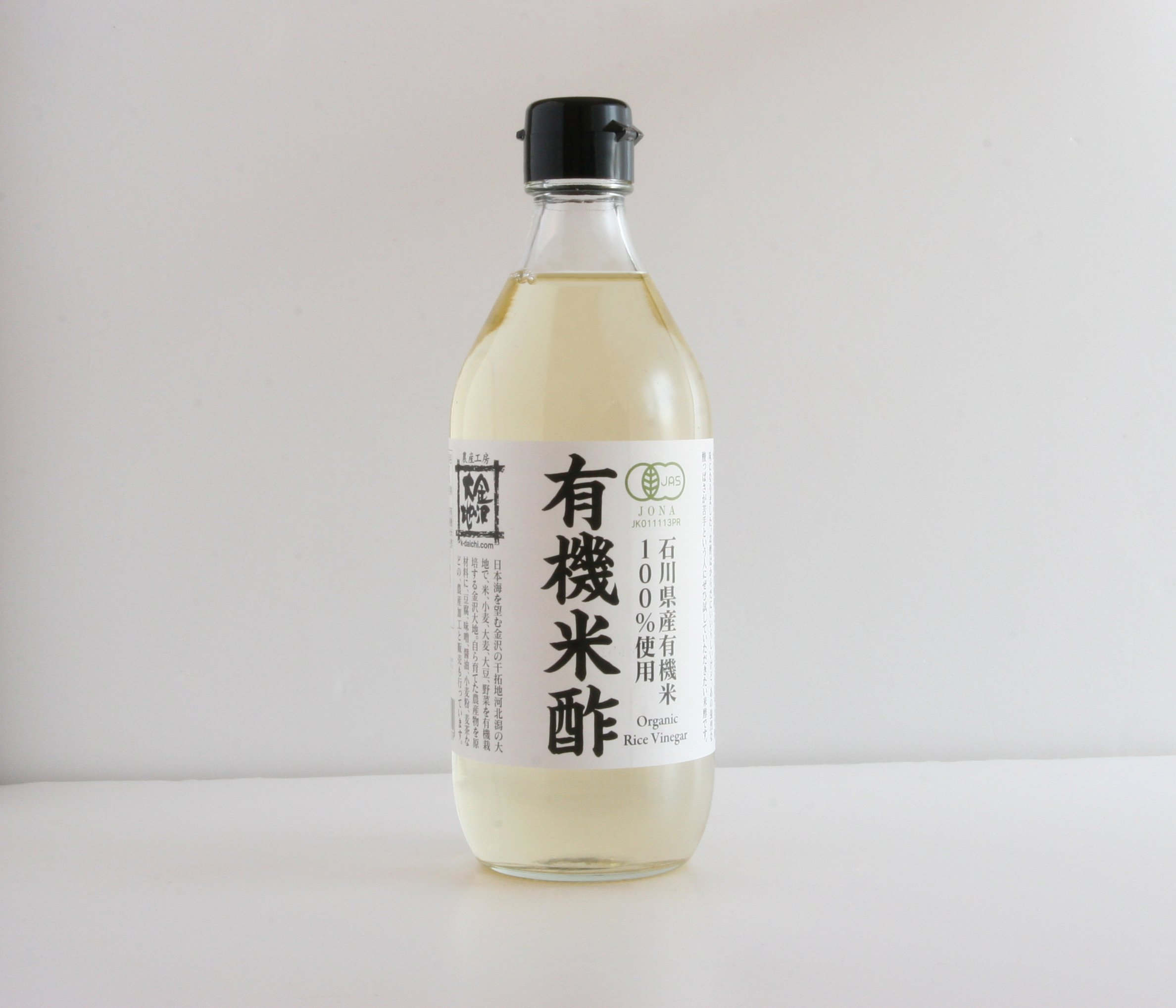 Kanazawa earth organic rice vinegar 500ml by Kanazawa earth