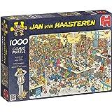 Jan van Haasteren - Massen an den Kassen - 1000 Teile: Comic Puzzle