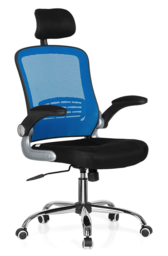 Hjh Office Vendo Net Silla de oficina Multicolor (Blue/Black ...