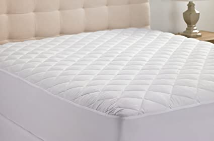 Amazon hanna kay hypoallergenic quilted stretch to fit mattress hanna kay hypoallergenic quilted stretch to fit mattress pad by 10 year warranty solutioingenieria Image collections
