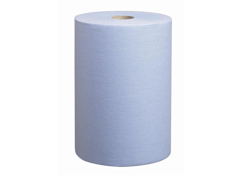 SCOTT* SLIMROLL Toallas Secamanos 6698 - Rollo de 190 m de color azul y 1 capa (paquete con 6 rollos): Amazon.es: Industria, empresas y ciencia