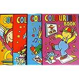 20 Mini A6 Colouring Books Party Bag Filler PTY (MULTI, 2)