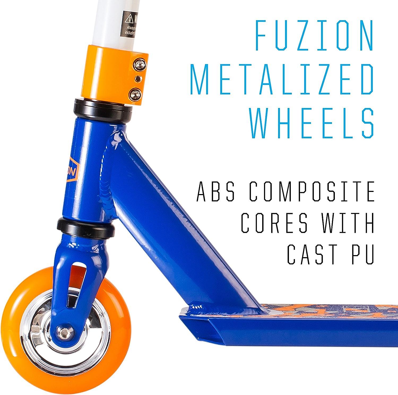 Fuzion Patinete X-3 Stunt, Orange & Blue: Amazon.es: Deportes y ...