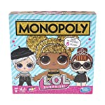 Monopoly Game: L.O.L. Surprise! Edition Board Game for Kids Ages 8 and Up (English)