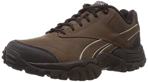44a8d41c2dc Image Unavailable. Image not available for. Colour  Reebok Men s Trail  Exhibit Lp Brown and Carbon Multisport Training Shoes ...