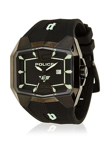 Police Reloj analogico para Hombre de Cuarzo con Correa en Caucho R1451224001: Amazon.es: Relojes