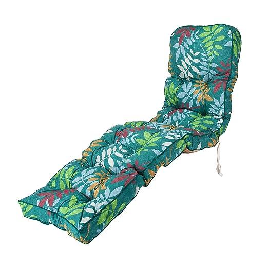 Repuesto para exteriores tumbona de jardín silla cojín ...