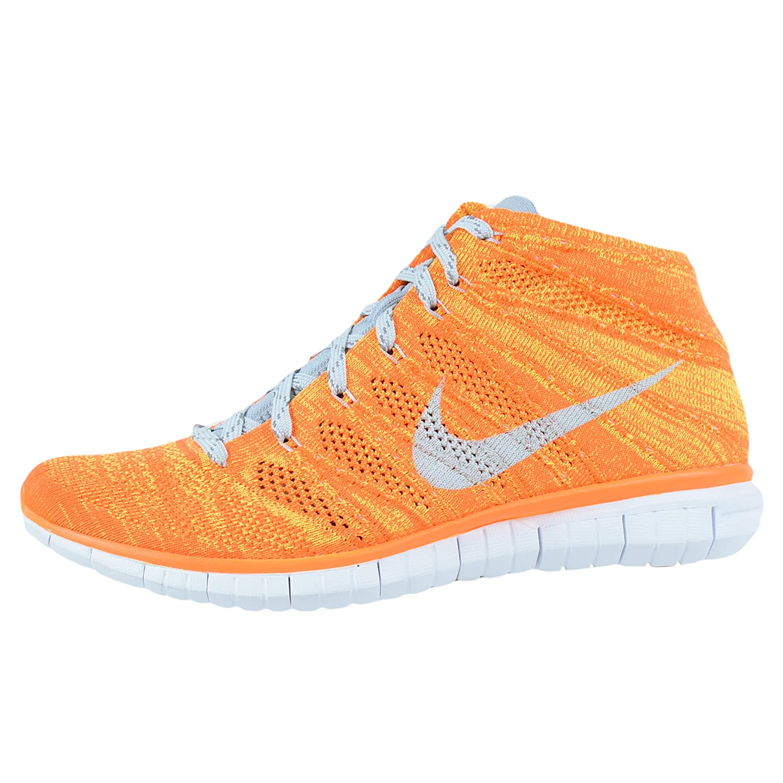 fa1f7f36d6461b Nike Zapatos Flynit Chukka para hombre Total naranja   Volt   Blanco   Base  ligera gris 639700-800 (TAMA O  10.5)  Amazon.es  Zapatos y complementos