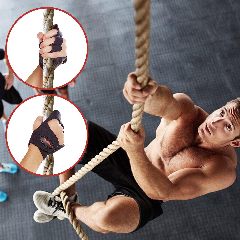 Cross Gloves Suitability Both Men /& Women BOODUN Training Fitness Gloves Support Sport Workout Exercise Lifting Half Finger Gloves