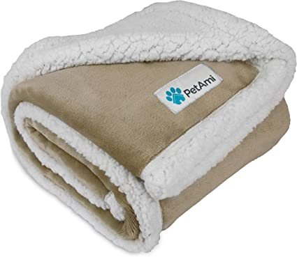 Sherpa Dog BlanketVery Soft Flannel And SherpaReversible