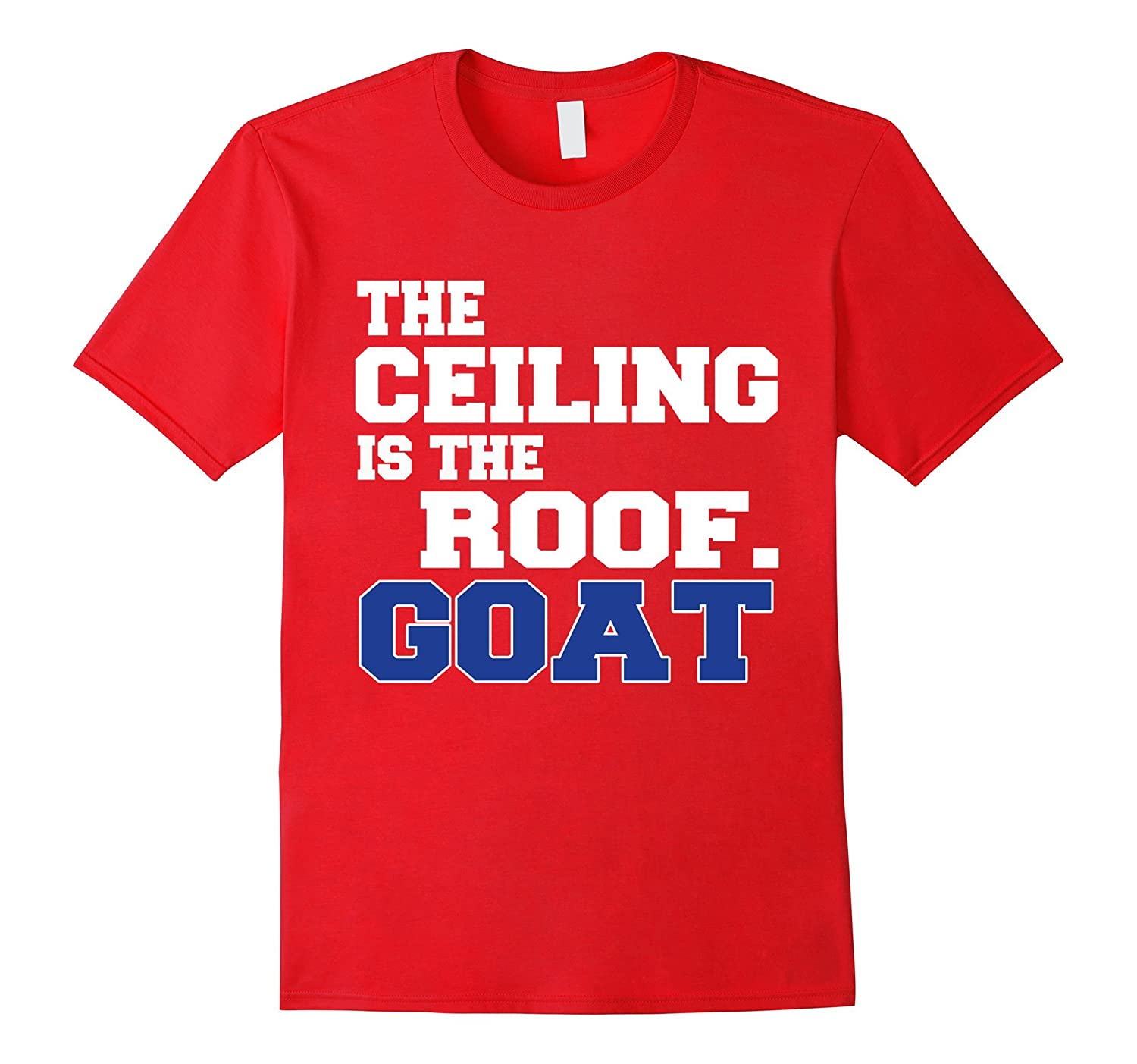 The Ceiling Is The Roof Goat T-Shirt-CD