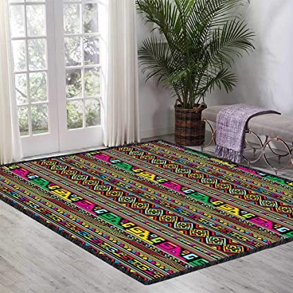 Amazon.com: African Children\'s Bedroom Carpet Ancient ...