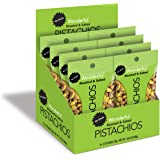 Wonderful Pistachios, No Shells, Roasted and Salted, 2.5 Ounce Bag (Pack of 8)