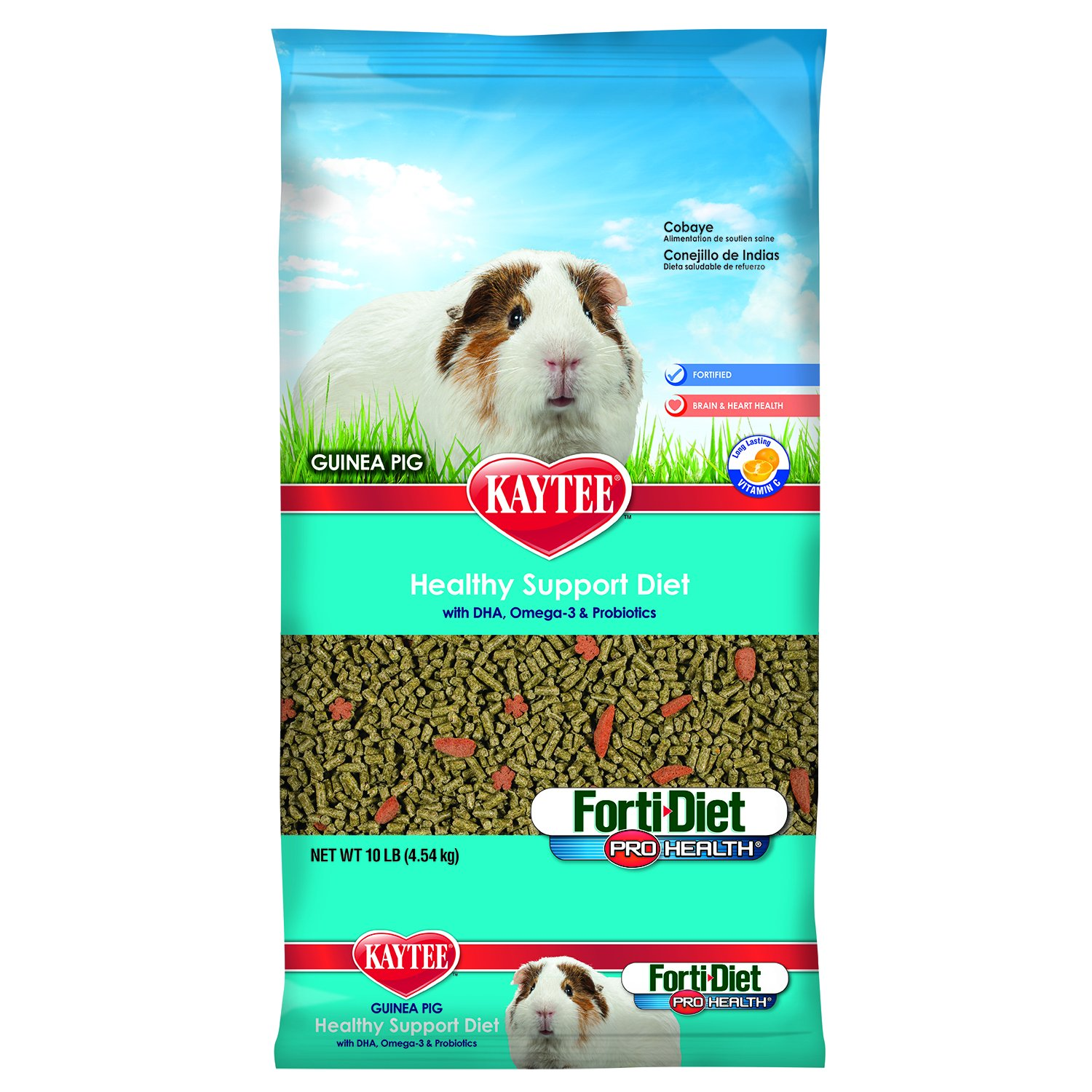 Kaytee Forti Diet Pro Health Guinea Pig Food,  10-Pound