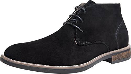 1f06032920e JOUSEN Men's Chukka Boot Suede Leather Ankle Desert Boots