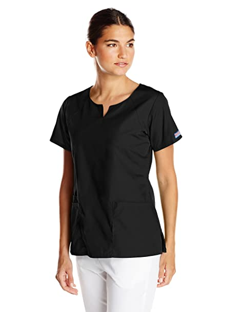 721e68762fd Amazon.com: Cherokee Women's Short-Sleeve Scrub Top: Clothing
