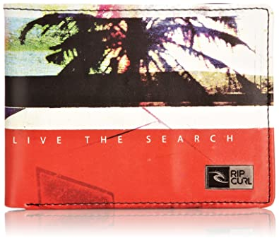 Rip Curl Portemonnee.Rip Curl Mens Rockered Photo Wallet Bwuaa4 Red Amazon Co Uk Shoes