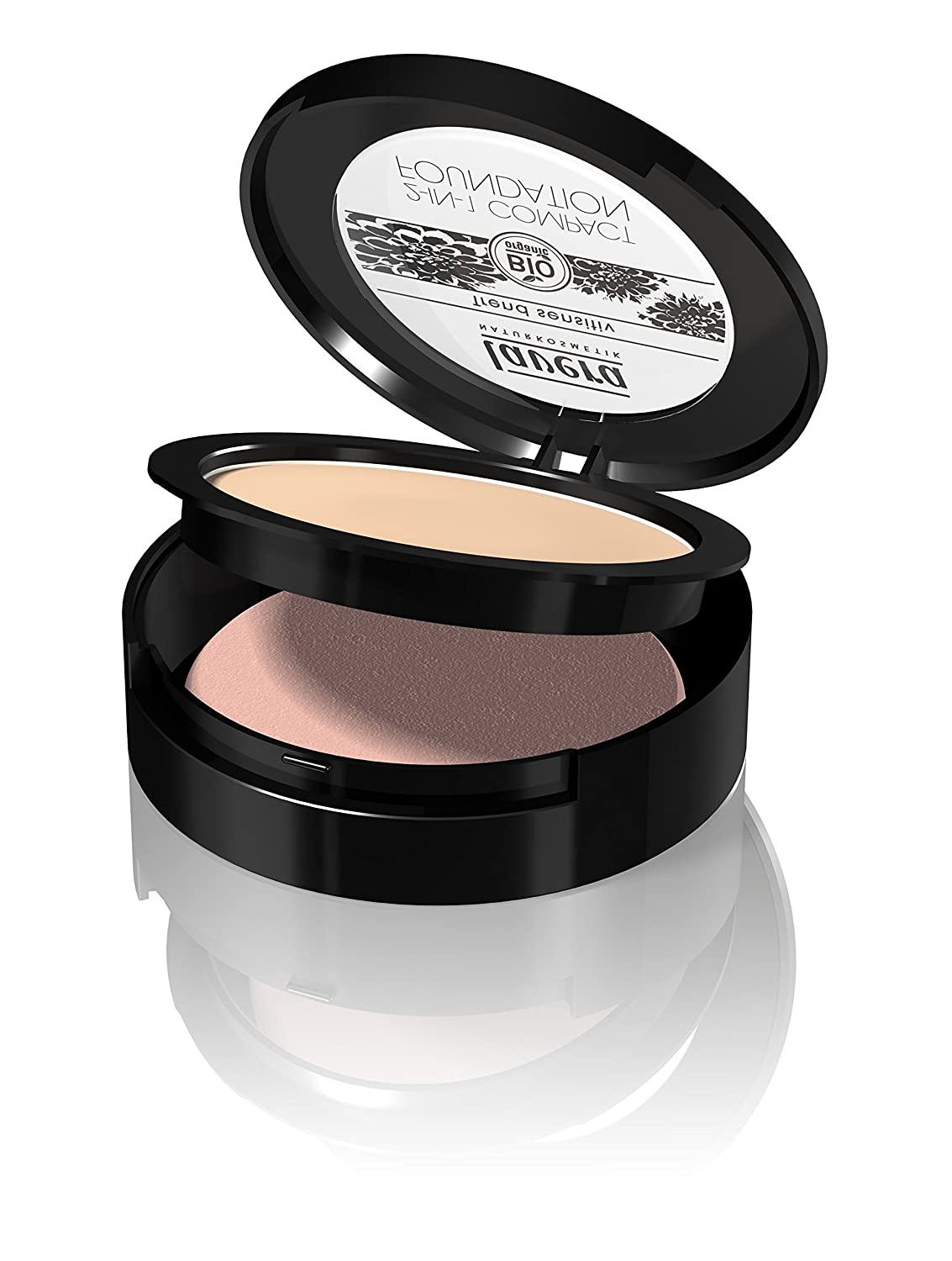 Lavera 2-in-1 Compact Foundation Honey 03 ∙ Vegan ∙ Bio ∙ 100% cosmetici naturali 10 g Laverana Gmbh & Co. Kg 1051960