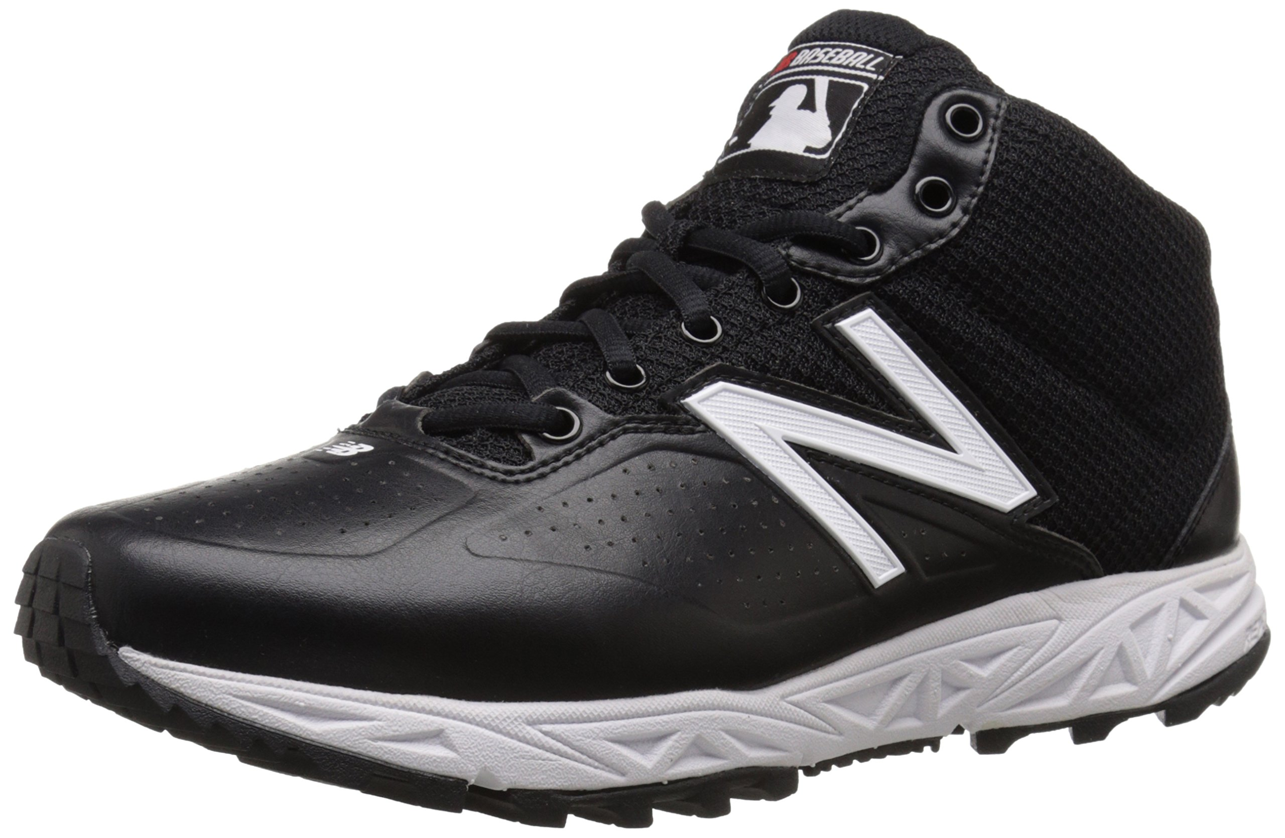 New Balance Men's MU950V2 Umpire Mid Shoe-M, Black/White, 7 D US by New Balance