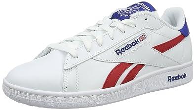 Reebok Npc Uk Retro, Sneakers Basses Homme, Blanc (WhiteCollegiate Royal