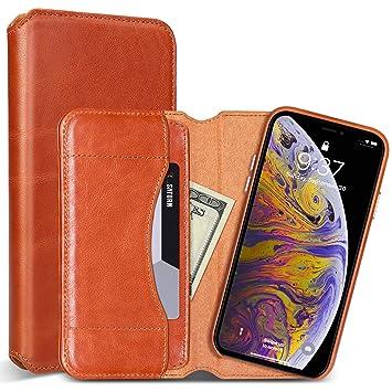 coque iphone xs portefeuille magnetique