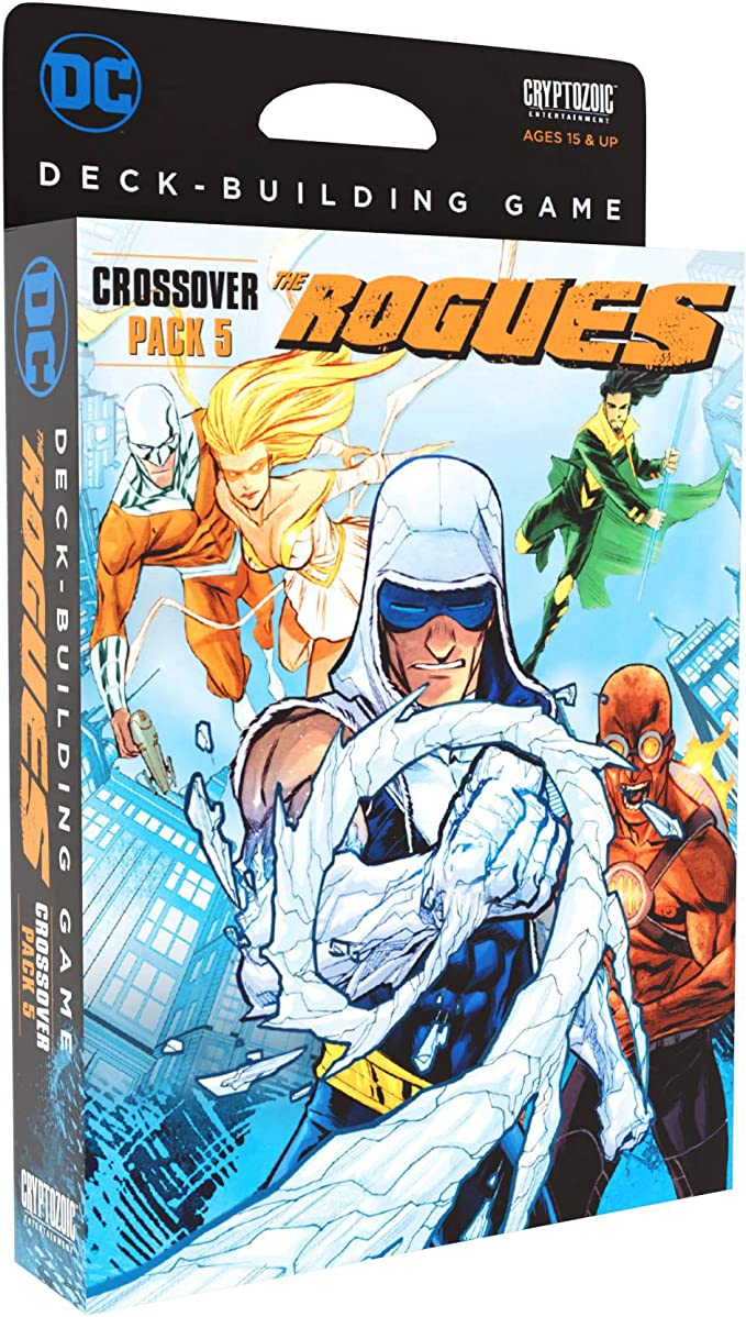 DC Comics Deck-Building Game: Crossover Pack #5 The Rogues: Amazon ...