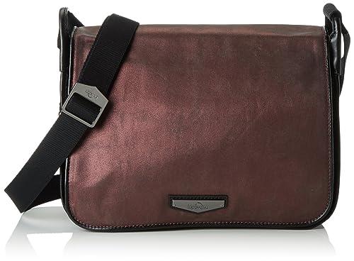 b9f9c2e19d Kipling Women s LUXEABLES Cross-body Bag Purple (REF34Y Plum Metal) 28x21x9  cm